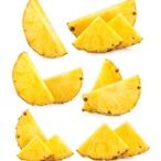 Ananas s tequilou a vanilkovou zmrzlinou