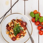 Bezlepkové noky s tomatovou omáčkou
