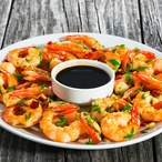Krevety s chilli majonézou