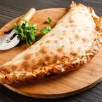 Špenátové calzone s paprikou a třemi druhy sýra