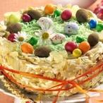 Velikonoční pudingový dort