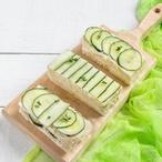 Okurkové sendviče