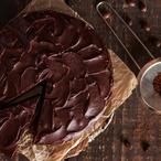 Čokoládový koláč s krémem