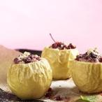 Pečená jablka plněná brusinkami