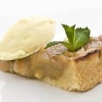 Chřestovo - rebarborový koláč