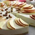 Jablečno-skořicový krémový dort