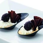 Vanilkový pudink s vyšlehaným tvarohem
