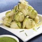 Rychlé bramborové knedlíčky s pažitkou a parmazánem