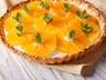 Pomerančový koláč s mandlemi