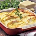 Nákyp ze sýra a bílého chleba