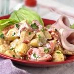 Provensálské brambory s rajčaty a smetanou