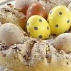 Velikonoční věnec s vejci