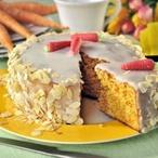 Mrkvový dort s citronovou polevou II
