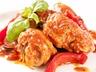 Kuře na paprice s těstovinami