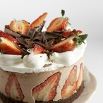 Pařížské dortíčky s jahodami