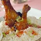 Kuře s pálivou omáčkou