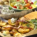 Brynzové brambory s bylinkami