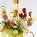 Sýrovo-ovocná kytice