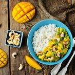Kuře v mangové omáčce