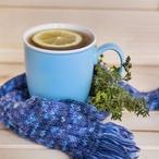 Levandulový zelený čaj