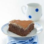 Hruškový koláč s kakaem