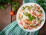 Teplý mrkvový salát s rýží