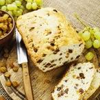 Ovocný chlebíček s brusinkami