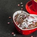 Valentýnské brownies
