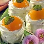 Mini dortíčky s meruňkou