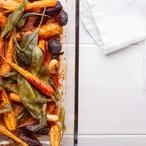 Glazovaná kořenová zelenina