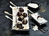 Smažené čokoládové lanýže