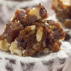 Košíčky s ořechy v karamelu
