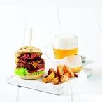 Hovězí burgery s čedarem