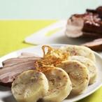 Slaninové bramborové knedlíky