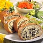 Velikonoční chléb s bylinkovou náplní