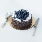 Levandulový dort s borůvkami