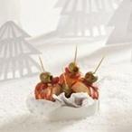 Tvarůžky s pikantním salámem