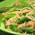 Bio recept na špagety s chřestem
