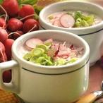 Jarní ředkvičková polévka