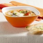 Krémová polévka ze sladkých brambor