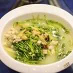 Polévka se zelenými fazolkami