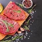 Hovězí steak s mangovou salsou