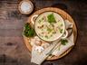 Krémová polévka s lesními houbami