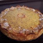 Tvarohový citronový koláč
