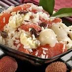 Rýžový salát s ovocem
