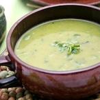Špenátová polévka smetanová