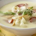 Bramborová polévka s květákem
