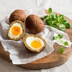"""""""Skotská"""" vejce ve falafelu"""