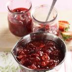 Čatní z jahod a červené řepy