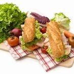 Sendvič s pečenou zeleninou